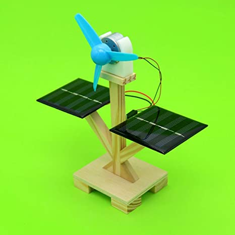 Lorenlli DIY Modelo de ventilador solar Montar Kits de ...