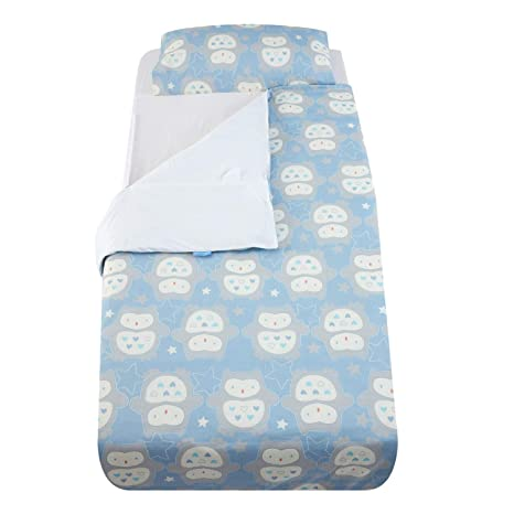 Baby Toddler Gro-To-Bed Duvet 4.0 Tog Cot-Bed Set The Gro Company White 2yrs+