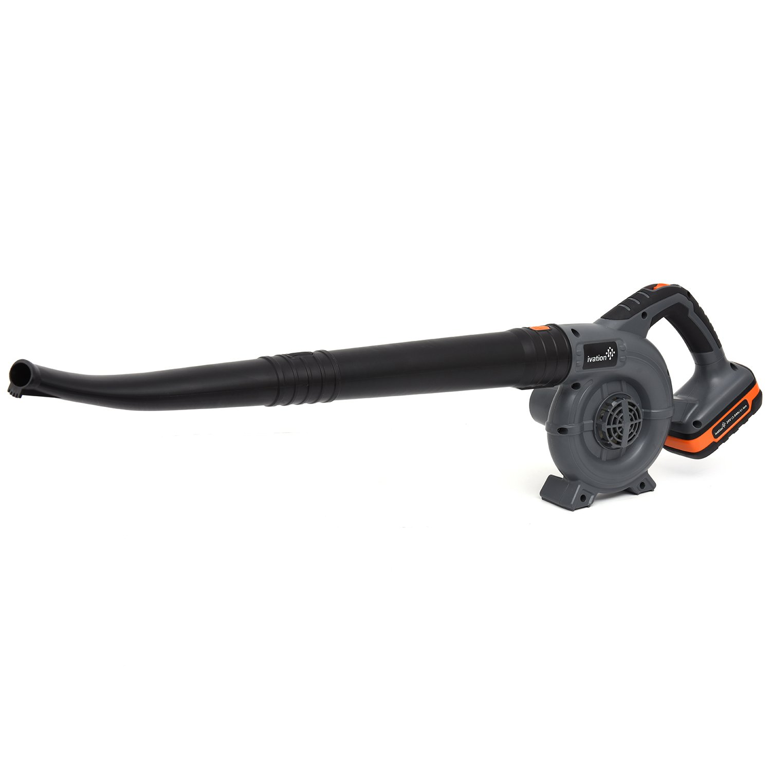 Ivation 20V Electric Cordless Leaf Blower – Handheld Sweeper, Lithium Ion Battery with 2.0AH for Maximum Power