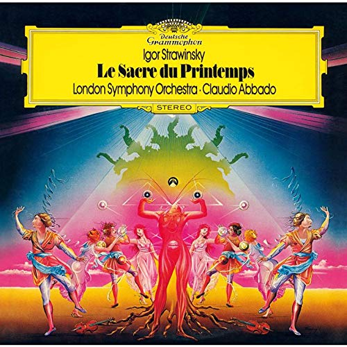 SACD : ABBADO,CLAUDIO - Stravinsky: Le Sacre Du Printemps (Limited Edition, Direct Stream Digital, Super-High Material CD, Japan - Import, Single Layer SACD)