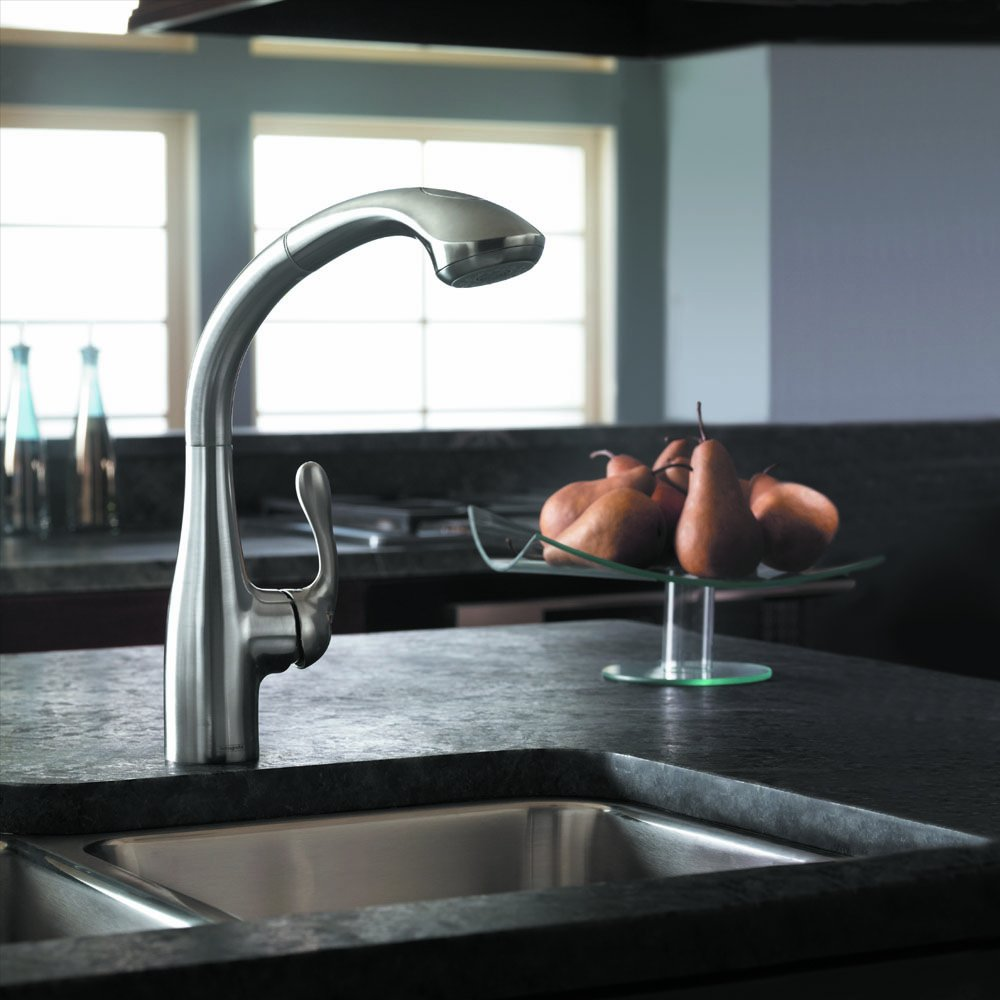 HG Allegro E Kitchen - Touch On Kitchen Sink Faucets - Amazon.com