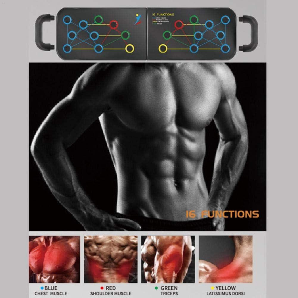 M/ás /Ángulos Tablero Plegable Para Estanter/ías Con Asas Con Manijas Tabla De Ejercicios Para Entrenamiento Muscular Forma Eficazmente Entrenamiento M/ás Posiciones