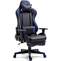 TIANSHU Gaming Bureaustoel,ergonomische PC-stoel verstelbare draaistoel Gaming Chair racing ontwerp Computer bureaustoel…