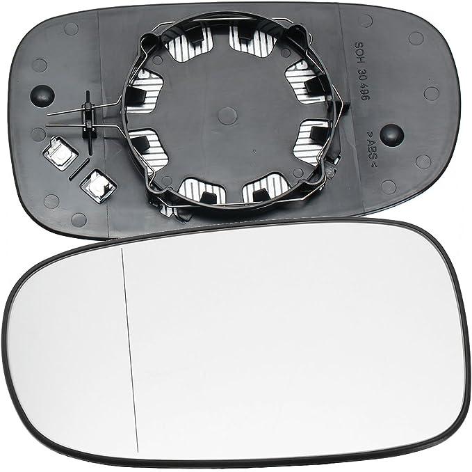 Left Passenger Side Wing Mirror Glass CONVEX SAAB 9-3  2003-2010