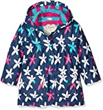 Hatley Little Girls' Printed Raincoats, Starflower, 6
