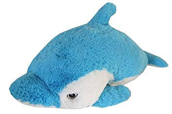 Amazon Com Dolphin Zoopurr Pets 19 Large 2 In 1 Stuffed Animal