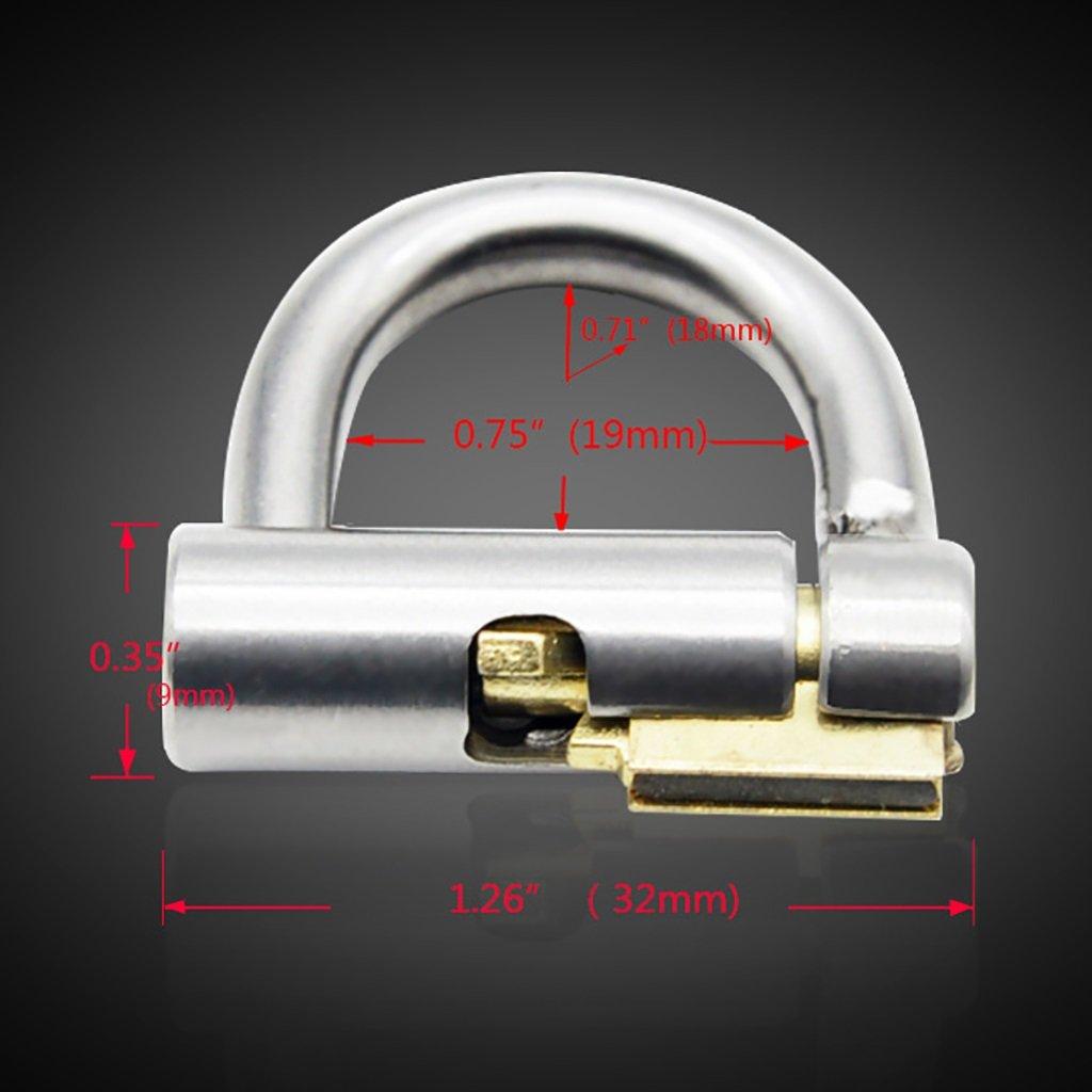 Cinturón de castidad Jaula de castidad, juguetes sexuales, pinchazo PA600 de dispositivo de PA600 limpieza CB6000 virginity lock/productos para adultos (Color : 40MM) c6406a