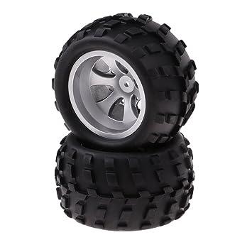 Homyl RC Ruedas Neumático para WLtoys A979 A979-B A979-A A979-01 1/18 RC Coche: Amazon.es: Juguetes y juegos