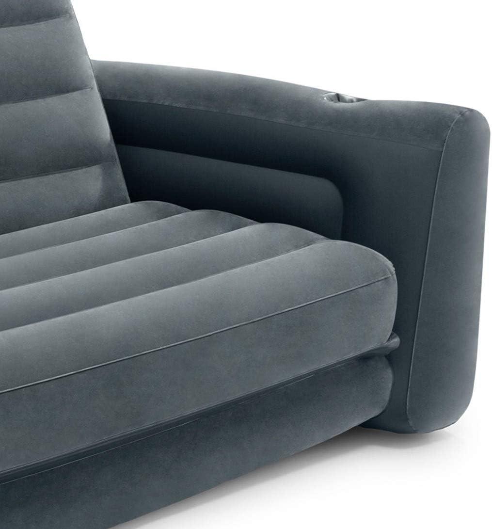 Amazon.com: Sofá cama inflable Intex, 76