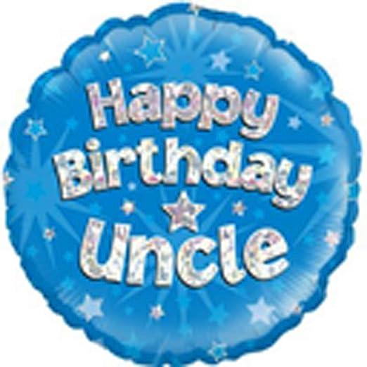 Amazon Com Happy Bday Uncle 18 Balloon Clothing