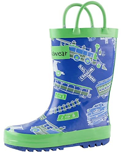 OAKI Toddler Rain Boots - Kids Rain Boots for Girls & Boys