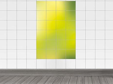 Piastrelle adesivo adesivo per cucina verde tonalità colori verde