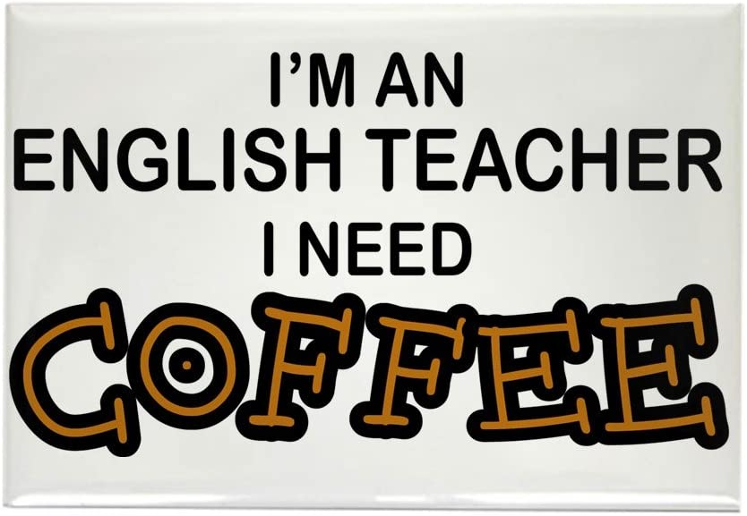 CafePress – Profesor de Inglés necesidad – de café rectangular ...
