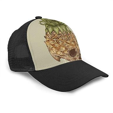 Bettiboy - Gorra de béisbol de algodón con diseño de piña y ...