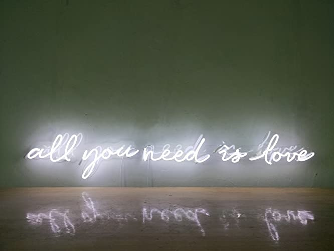 Αποτέλεσμα εικόνας για all you need is love neon