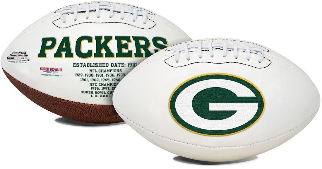 Green Bay Packers Signatures Series Football
