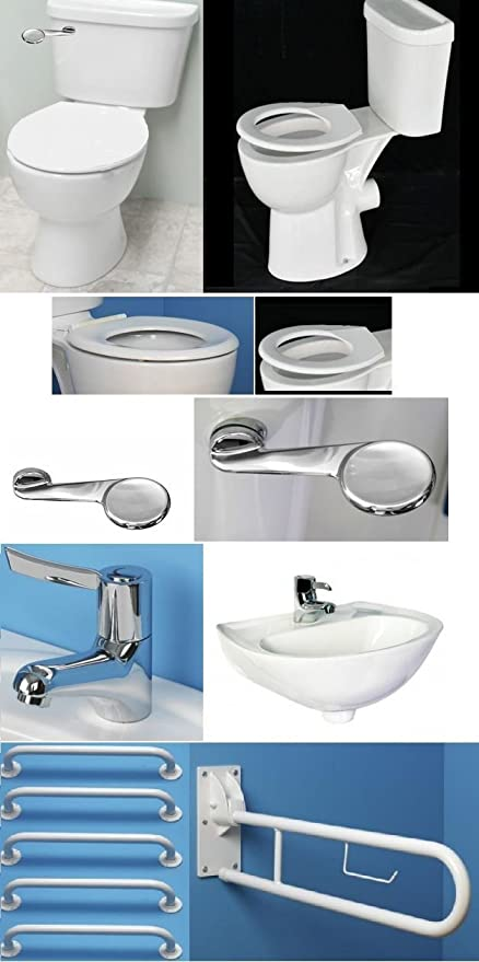 I Care Disabled Bathroom Suite High Doc M Toilet Close Coupled 470 ...
