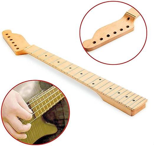 YUSDP Mástil de Guitarra para ST, mástil de Guitarra eléctrica de ...