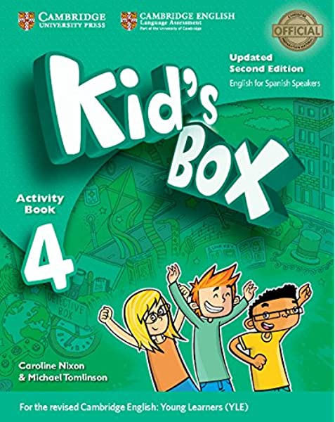 Kids Box Level 4 Activity Book with CD ROM and My Home Booklet Updated English for Spanish Speakers: Amazon.es: Nixon, Caroline, Tomlinson, Michael, Grainger, Kirstie: Libros en idiomas extranjeros