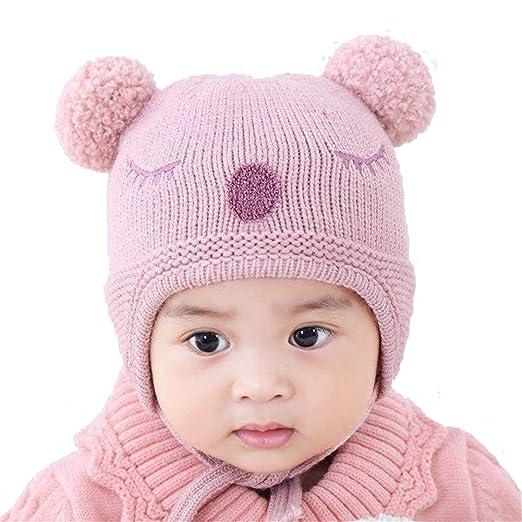 0681d0daf Amazon.com: Wxllzlife Baby Infant Earflap Beanie Hat Toddler Boys ...