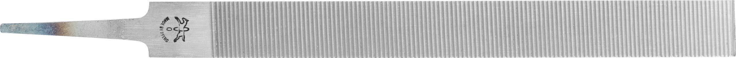 PFERD Flat Hand File for Aluminum, American Pattern, Single Cut, Rectangular, #0 Coarseness, 10'' Length, 31/32'' Width, 1/4'' Thickness