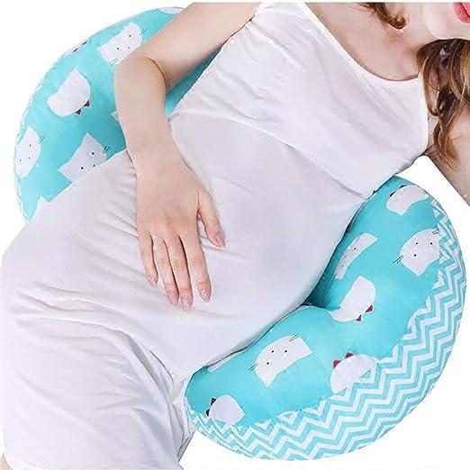 WDXIN Almohada de Embarazo Cojín de Lactancia Cinturon de ...