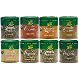 Simply Organic Basics 8 Spices Gift Set