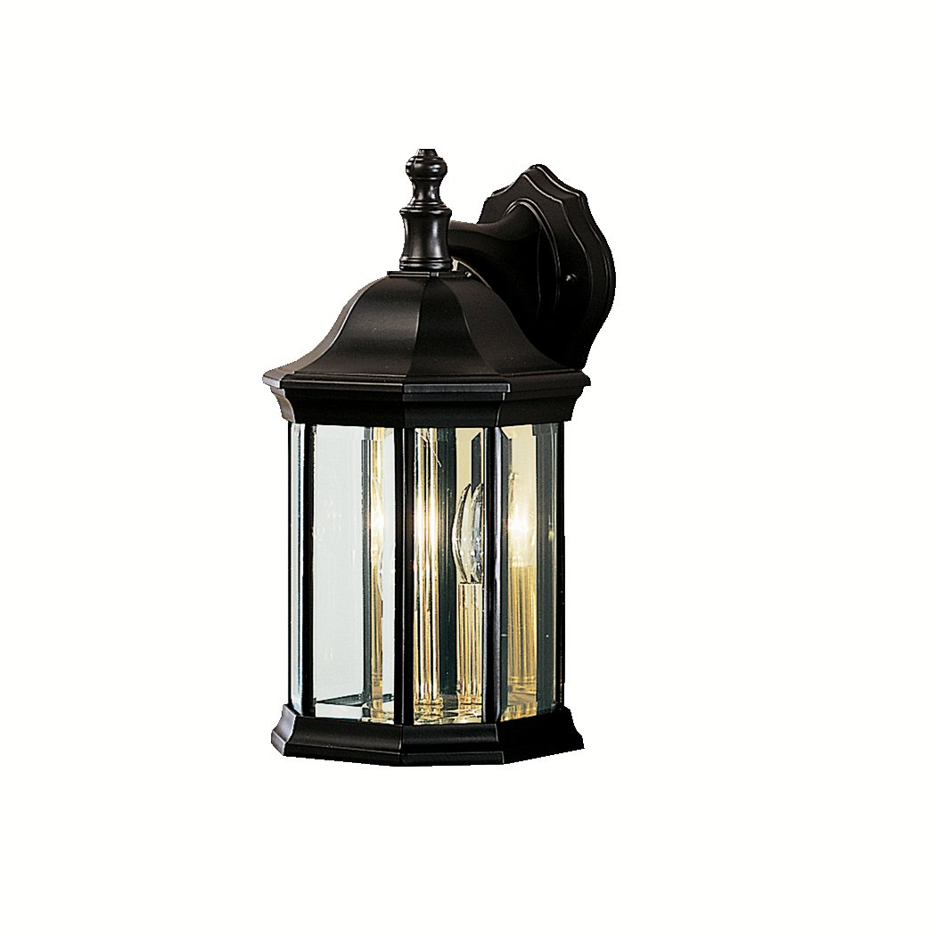 Kichler Lighting 9777BK 3 Light Chesapeake Outdoor Sconce  Black   Wall  Porch Lights   Amazon comKichler Lighting 9777BK 3 Light Chesapeake Outdoor Sconce  Black  . Kichler Lighting Outdoor Sconce. Home Design Ideas