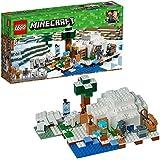 LEGO Minecraft The Polar Igloo 21142 Building Kit (278 Piece)