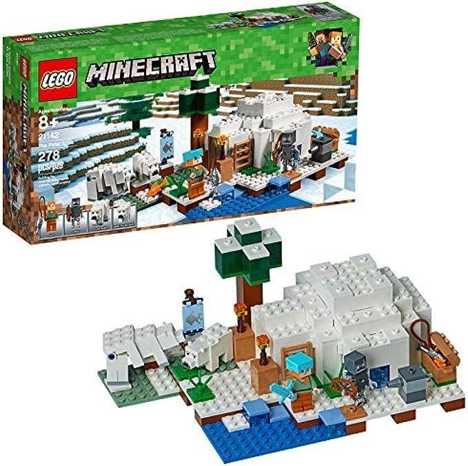 LEGO Minecraft האיגלו בקוטב 21142