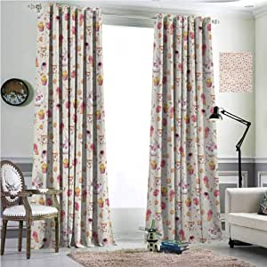 Amazon.com: Blackout Curtains for Living Room- Warm ...