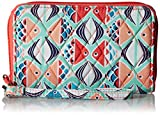 Vera Bradley RFID Grab and Go Wristlet, Signature Cotton Fish