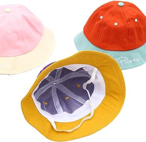 Gorra de Cuenco de Letras Coloridas para Cebé Gorras Planas de ...