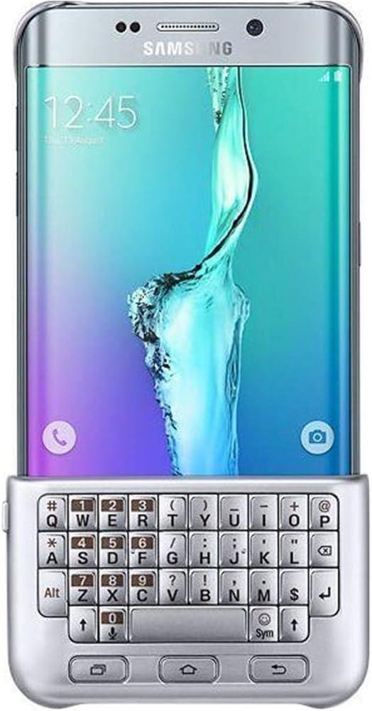 Samsung EJ-CG928 - teclados para móviles (Plata, Samsung, Galaxy S6 edge+, QWERTZ, 7,990 cm, 1,255 cm)