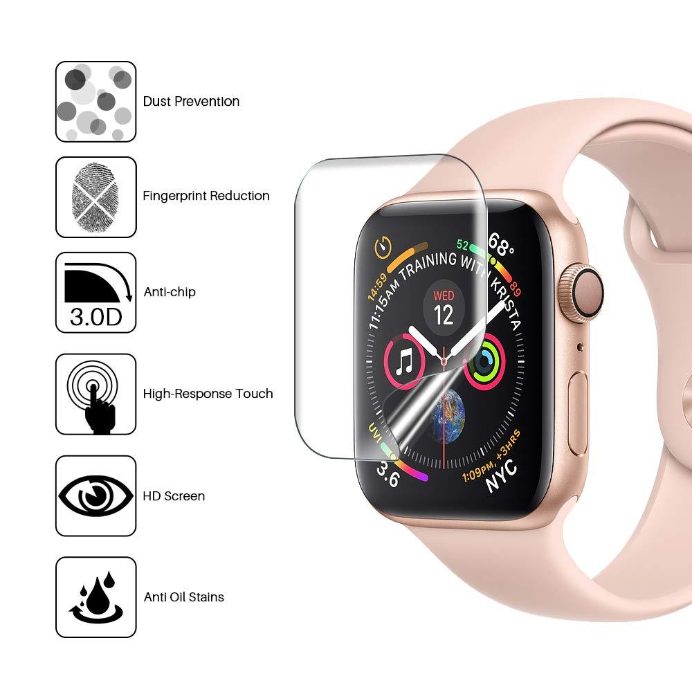 La protection L K  pour Apple Watch 44mm Serie 4/5 est celle qui fait le moins de Bulles