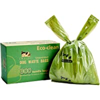 Dog Poop Bags, 300-Count Dog Waste Bags with Easy-Tie Handles, Guaranteed Leak-Proof, Earth-Friendly, Unscented Oxo…