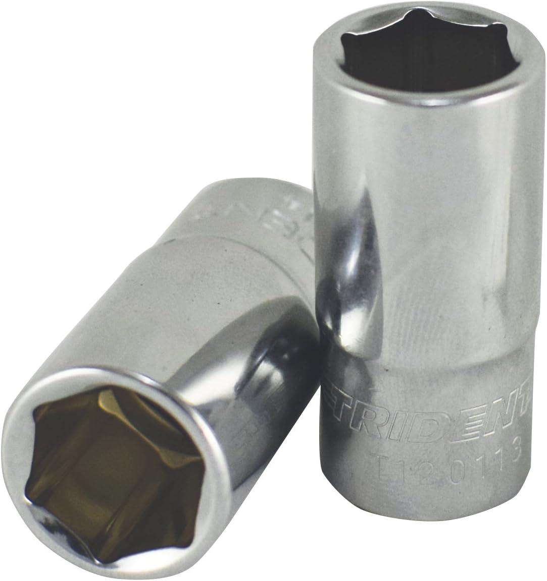 Trident 3//8 Drive Semi Deep Socket 12mm 40mm Deep T120112 Free P/&P