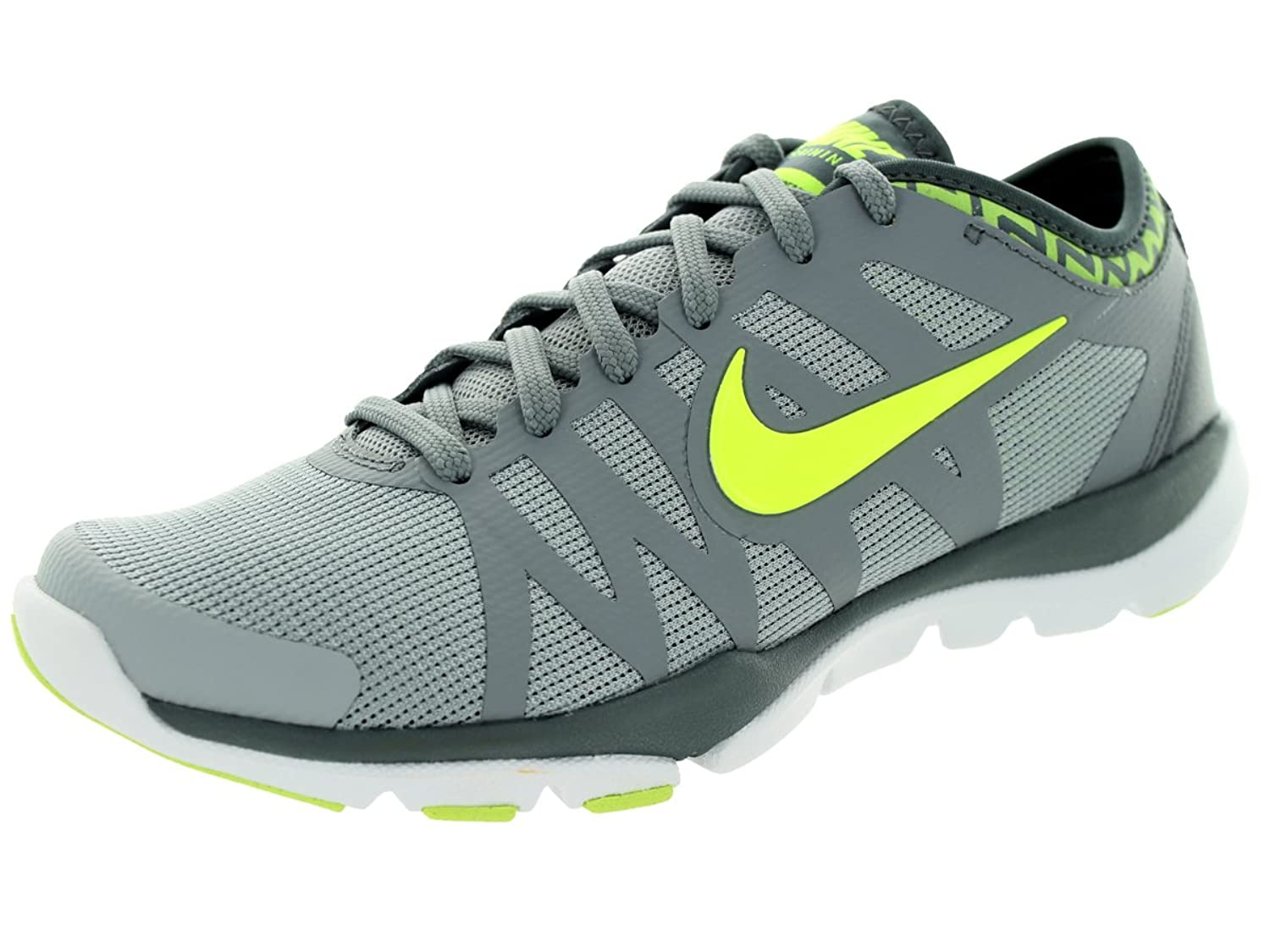 Amazon.com | Nike Women's Flex Supreme TR 3 Cross Trainer, Wolf  Grey/Volt/Stealth/Cl Grey, 8.5 B(M) US | Fitness & Cross-Training
