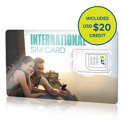 Amazon.com: telestial tarjeta SIM Internacional con 20.00 ...