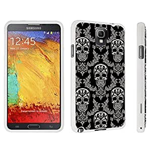 M.Y.S.YSamsung Galaxy Note 3 Hard Case White - (Skull Vintage Pattern)