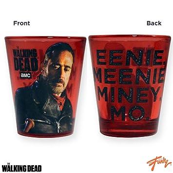 "1.5oz oficial de AMC THE WALKING DEAD negan "", Eenie Meenie Miney,"