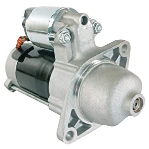 DB Electrical SND0476 New Starter For Kubota Mower Turf ZD25 ZD28 05-Bk/Kubota D1105 25HP Diesel /1G069-63010, 1G069-63011, 1G069-63012, 77700-02596