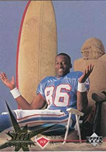 1997 Upper Deck Football #25 Joey Kent RC Rookie Card Houston Oilers Official NFL Trading Card From The UD Company