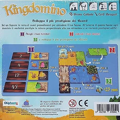Oliphante – kingdomino Juegos de Caja, Color no, 9070042: Amazon.es: Juguetes y juegos