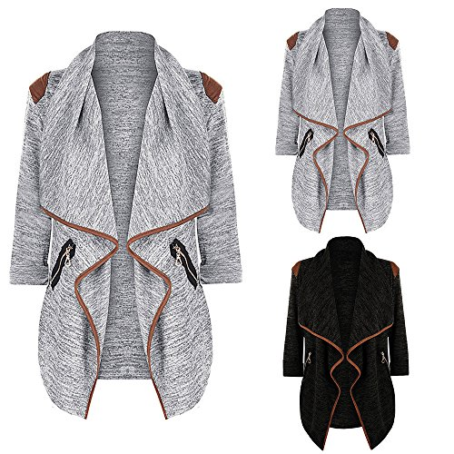 Jacket Womens Knitted Outwear Winter Long Size Khaki Autumn Ladies Loose Sweatshirt Long Sleeve Casual Plus Vintage Tops DEELIN Sale Cardigan Clearance xnqwUC4S