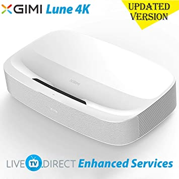 4K Projector, LiveTV.Direct Enhanced JmGO S3 Ultra Short Focus ...