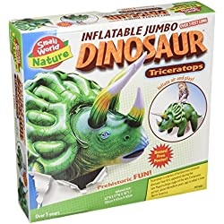 """Small World Toys Nature - Inflatable Dinosaur! Triceratops Kit, 46"""""""