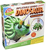 Small World Toys Nature - Inflatable Dinosaur! Triceratops Kit, 46""