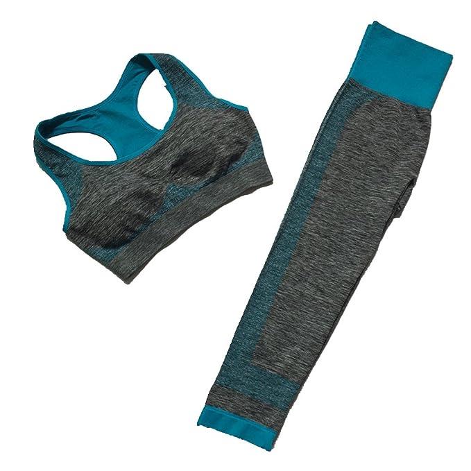 Amazon.com: Juego de 2 leggings para mujer, para fitness ...