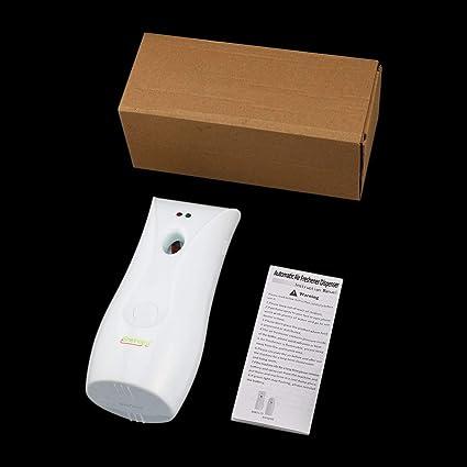 Delicacydex Dispensador de Perfume automático para Interiores Ambientador de Aire Aerosol Fragancia Máquina rociadora de contenedores
